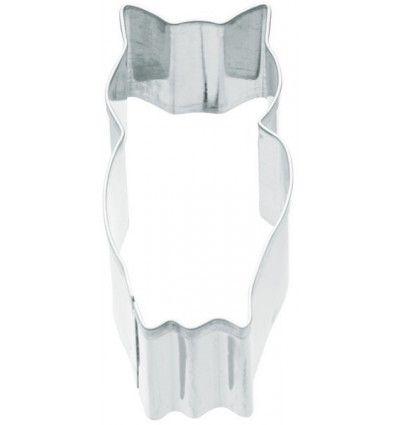 Cortador forma de buho 3x6,5 cms