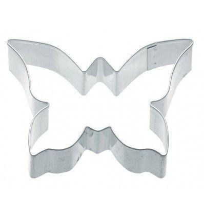 Cortador galletas mariposa 7,5x5 cm