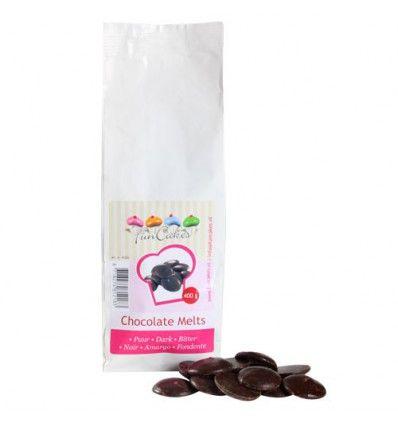 Chocolate negro para cubrir. 400 grs