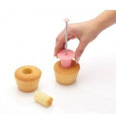 Descorazonador para cupcakes