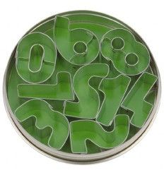 Set de cortadores números(3,5 cm)