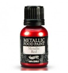 Pintura metalizada Roja 25 ml