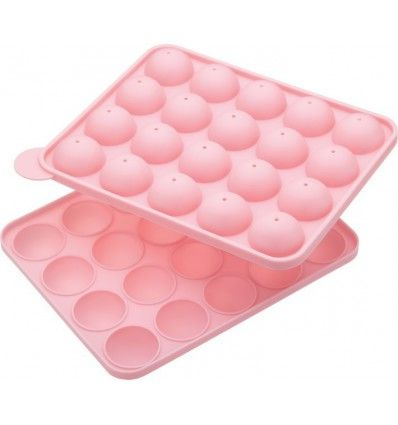 Molde silicona para 20 Cake pops bizcobolas