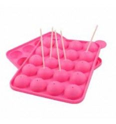 Molde silicona de Cakepops