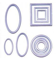 Set de 10 cortadores formas geometricas