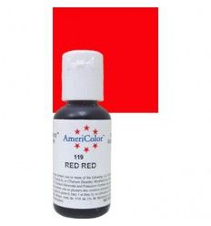 Colorante en gel Red Red (rojo rojo) Americolor 21gr