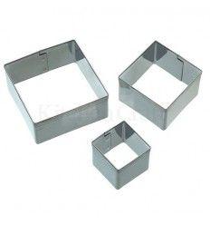 Set cortadores cuadrados