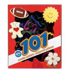 Set de 101 cortadores para galletas