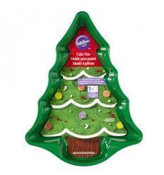 Molde árbol de navidad para bizcochos, 37 cm