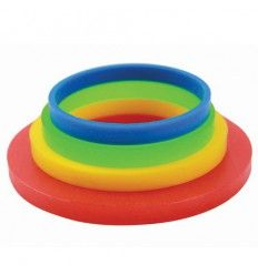 Set de 3 anillos guía para rodillo grande