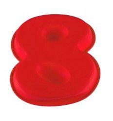 Molde silicona número 8