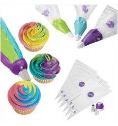 Adaptador de boquillas tricolor