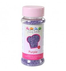 Nonpareils mini perlitas Purple-Morado, 80 gr
