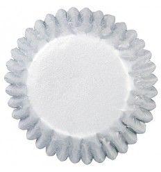 Cápsulas plata 2,5 diámetro, 75 ud