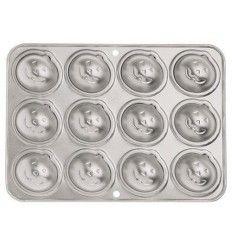 Molde hornear Mini Calabazas, 12 Cavidades
