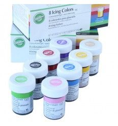 Kit de 8 Colorantes Wilton 8x28 g