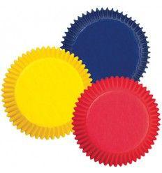 Cápsulas colores primarios Azul,Rojo y Amarillo, 75Ud