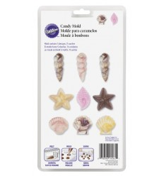 Moldes conchas candy mold