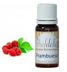 Aroma de Frambuesa,10 ml Chefdelíce