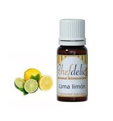 Aroma de Lima- Limón, 10 ml Chefdelíce