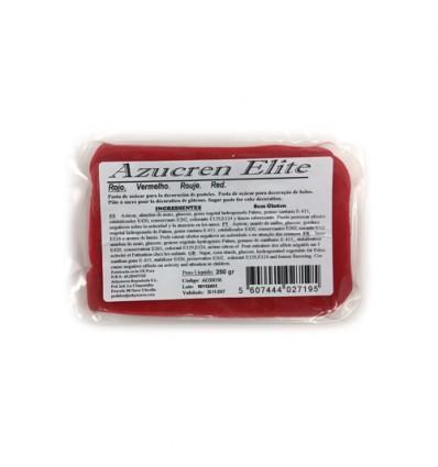 Fondant Azucren Elite Rojo 250 g