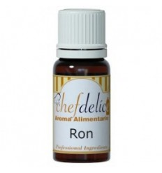 Aroma a Ron, 10ml Chefdelíce