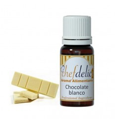 Aroma Chocolate Blanco, 10ml Cheldelíce