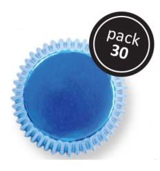 Cápsulas metalizadas Azules 30 Ud PME