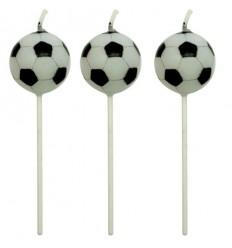 Set velas fútbol 4ud