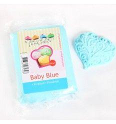 Fondant Funcakes azul bebé 250 g