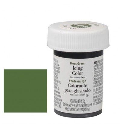 Colorante gel Wilton - Verde moss green