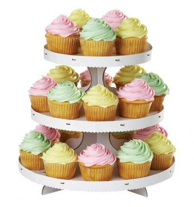 Expositor Wilton para Cupcakes de 3 alturas