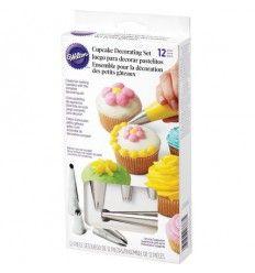 Set de decoración para cupcakes Wilton
