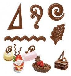 Molde chocolate 10 diseños