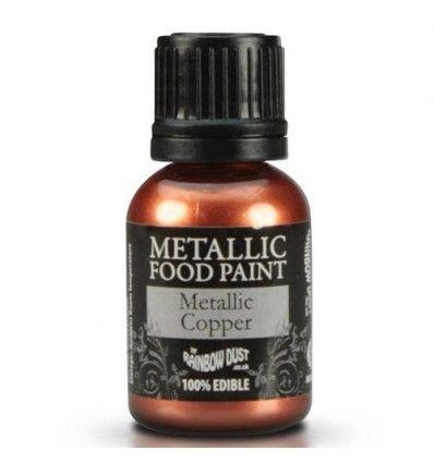 Pintura metalizada cobre 25 ml