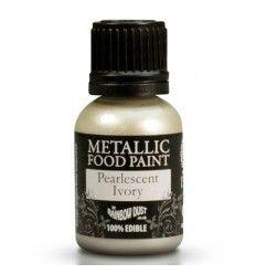 Pintura metalizada Marfil perlado 25ml