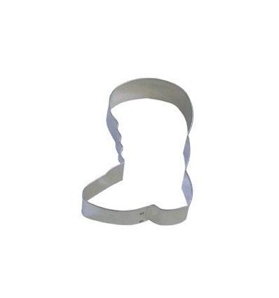 Cortador bota Santa Claus 10 cm