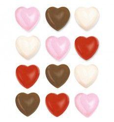 Molde Corazones para caramelo y chocolate Wilton