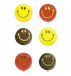 Molde para chocolate caras sonriendo