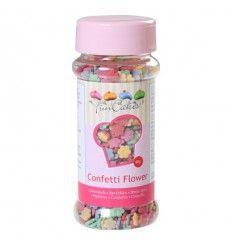 Confeti de flores de colores 60gr