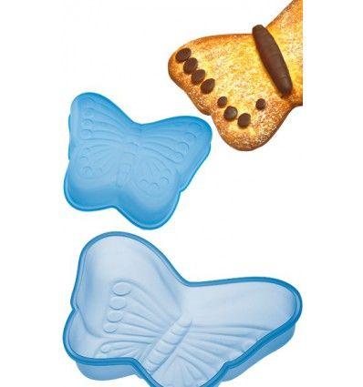 Molde silicona forma mariposa
