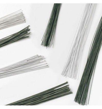 Alambre Floral Verde Oscuro set/50 - calibre 28 Culpitt