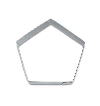 Cortador forma pentágono 7 cm