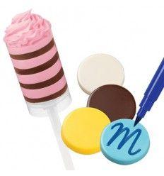 Molde círculos para chocolate o caramelo
