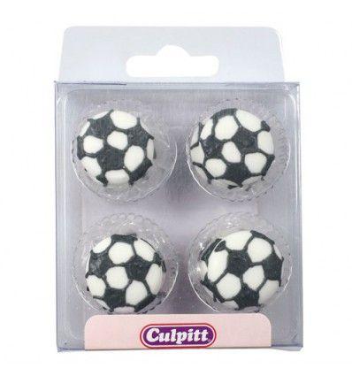 Balones de Fútbol de azúcar, 12u. Culpitt