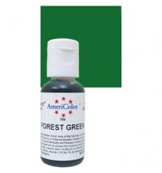 Colorante en gel Forest green (verde bosque) Americolor 21gr