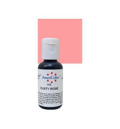 Colorante en gel Dusty Rose (rosa claro) Americolor 21 gr
