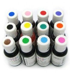 Pack colorantes en gel Americolor 12 colores
