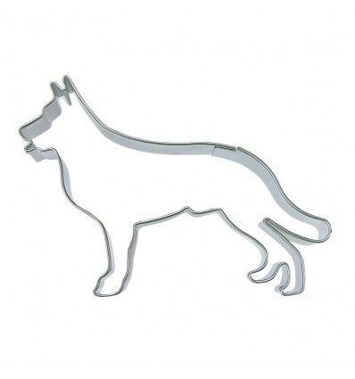 Cortador de galletas perro pastor alemán