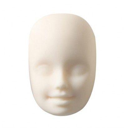 Molde de silicona cabeza de bailarina 2,5x3,6cm